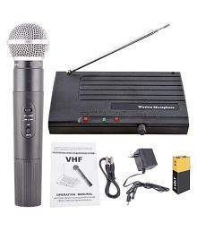 Divinext 60mtr Wireless Range Rider Rx-68 Wireless VHF Wireless PA Microphones