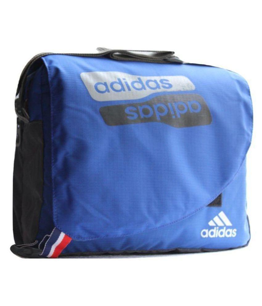 d8cc275de55 Adidas Stylish Blue Bag for School/College/Office use Blue Casual Messenger  Bag - Buy Adidas Stylish Blue Bag for School/College/Office use Blue Casual  ...