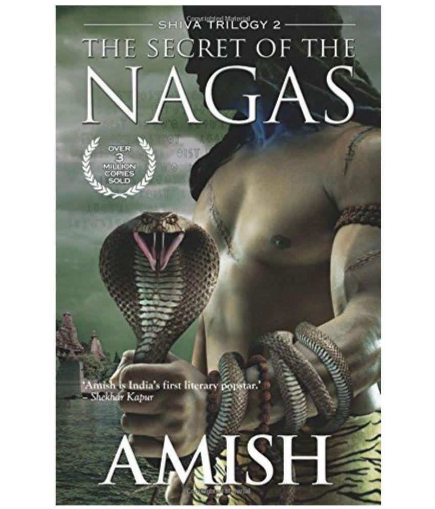 The Secret Of The Nagas.( Shiva Trilogy 2 ).English.Paperback.
