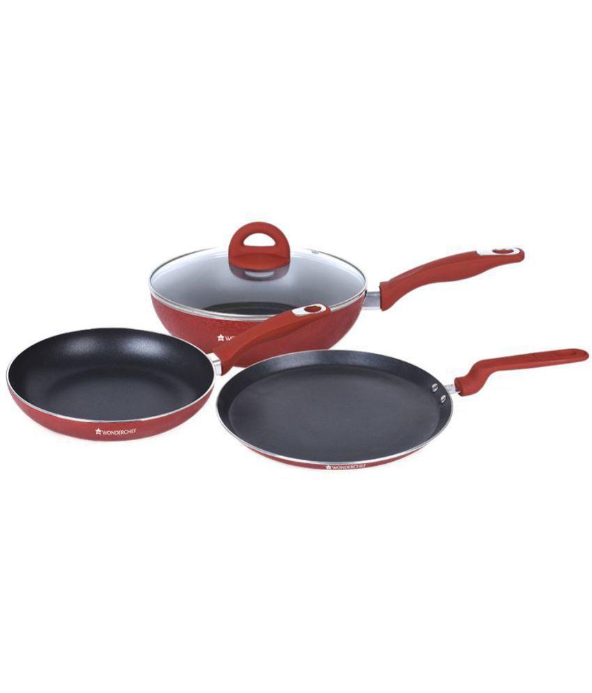 Wonderchef Crystal 4 Piece Cookware Set