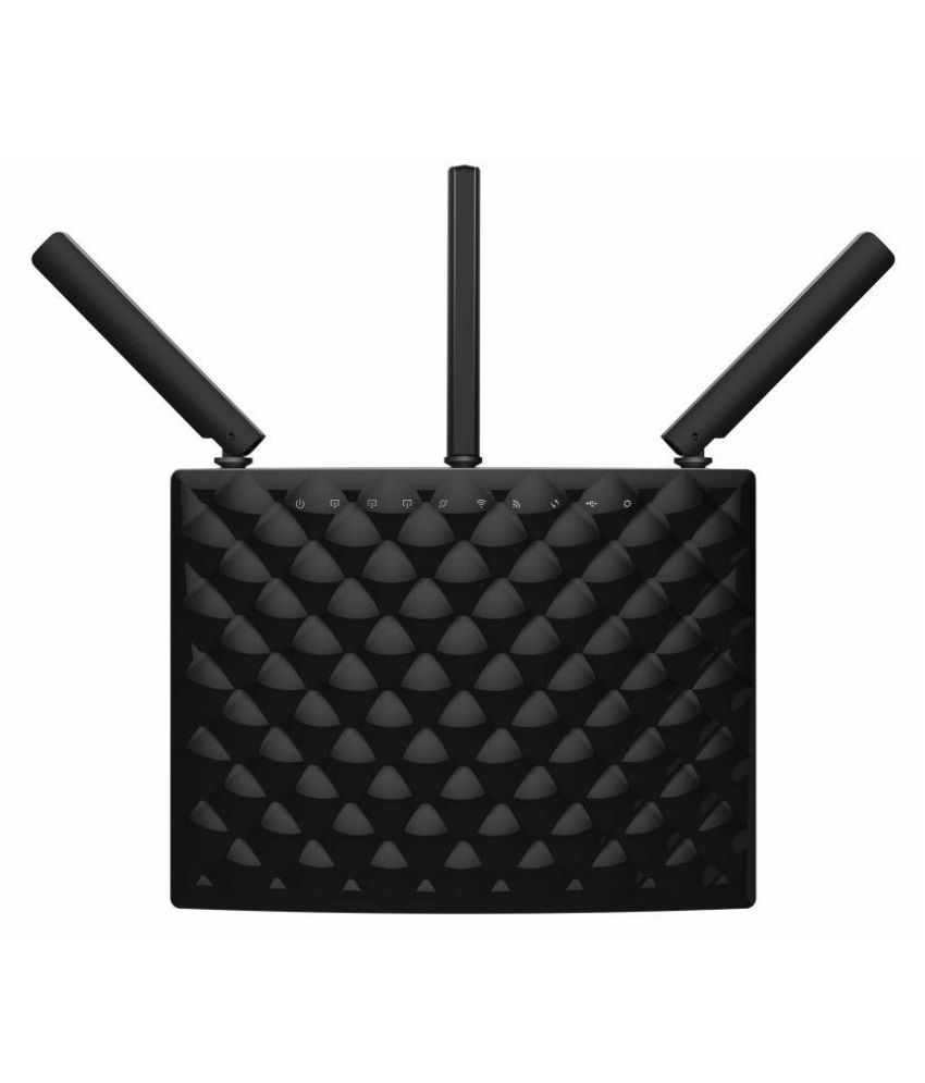 Tenda AC15 Smart Dual Band Gigabit High Power Router 1900 RJ45 Black