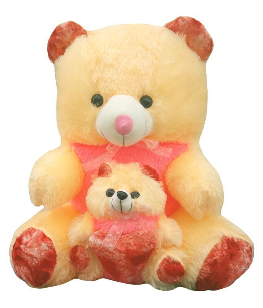 e24e2f8d569 ... Cream   Red Rose with Baby Teddy Bear - 65 cm - Buy GVMC Toys Beautiful  Cream   Red Rose with Baby Teddy Bear - 65 cm Online at Low Price - Snapdeal
