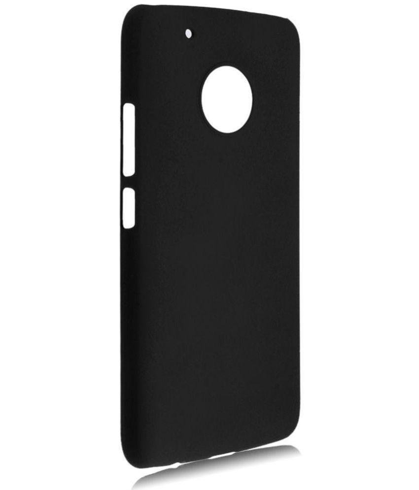 Moto G5 Plus Plain Cases MAXX3D - Black SHOCK PROOF