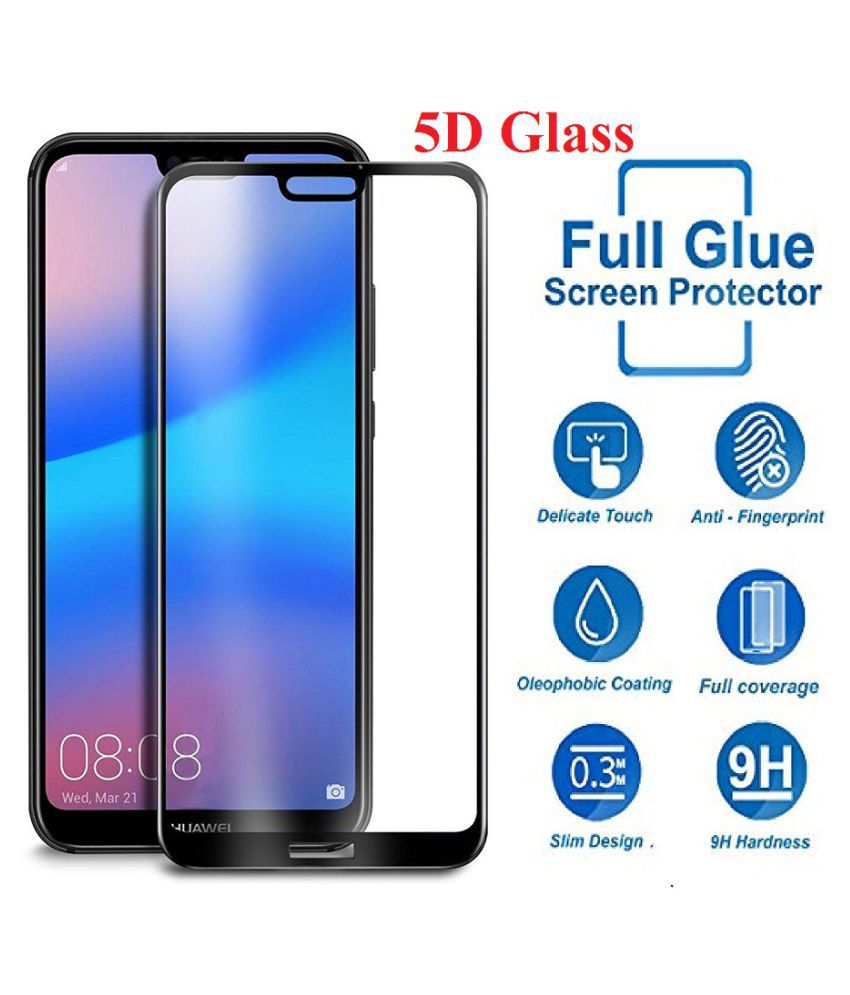 info for 0d596 04625 Oppo A5 Tempered Glass Screen Guard By VinyakMobile 5D Tempered Glass