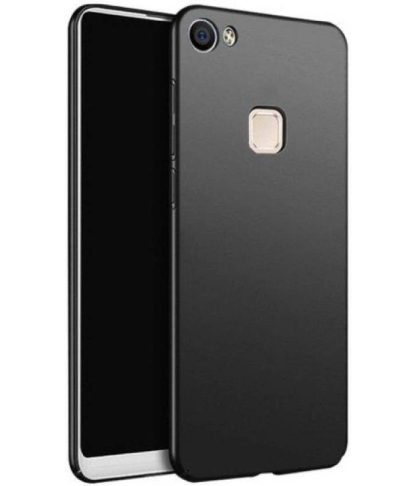 Vivo V7 Plain Cases MAXX3D - Black SHOCK PROOF
