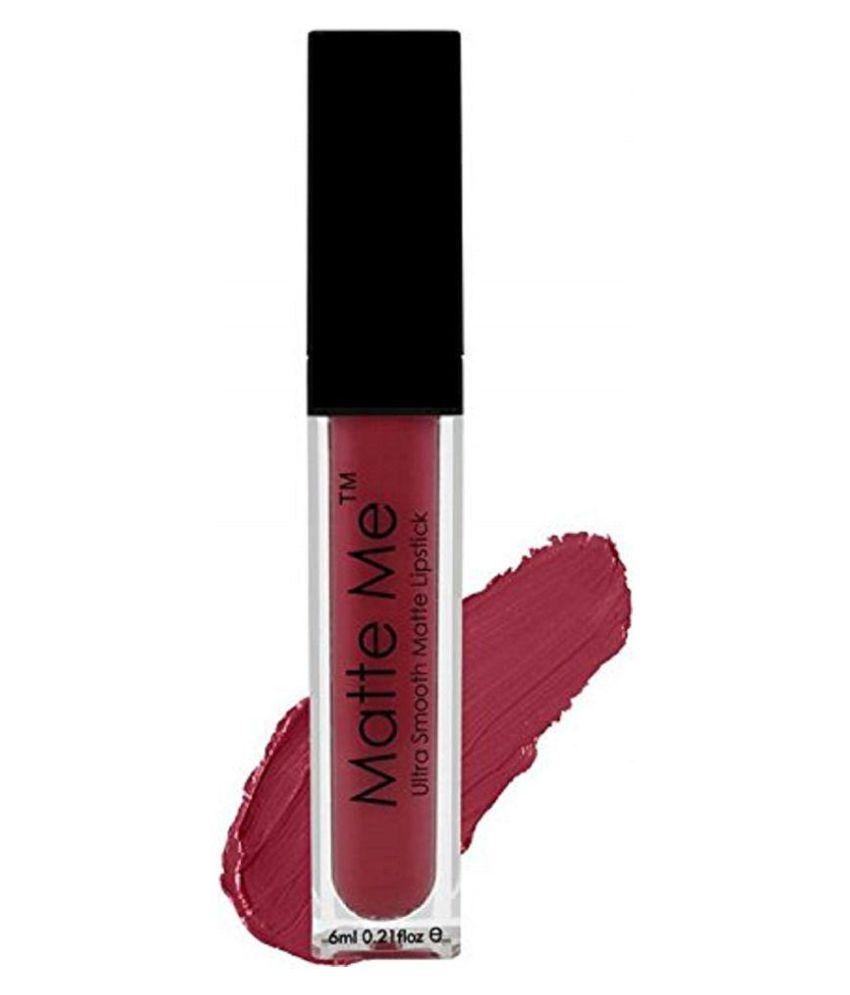 ADS Liquid Lipstick (Grape shade 422) 6 ml