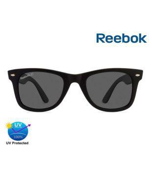 Reebok Black Wayfarer Sunglasses