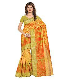 aa23666c5 Gold Saree  Buy Gold Saree Online in India at low prices - Snapdeal