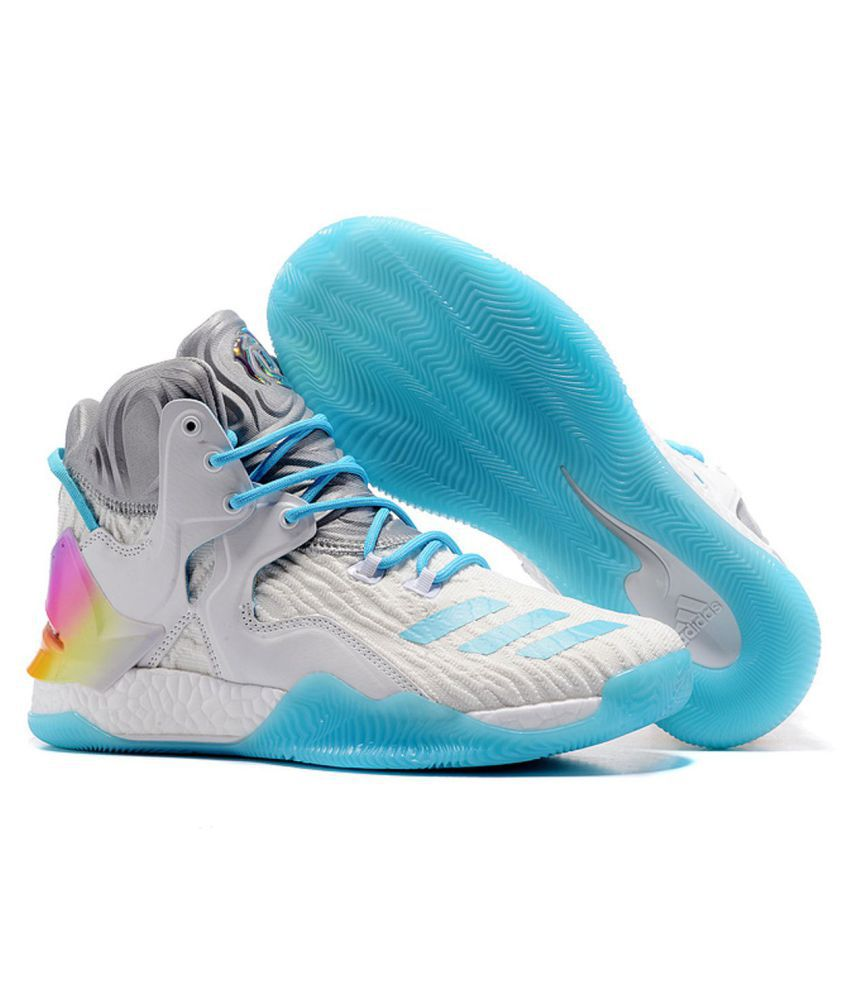 711b81e8df9f Adidas D ROSE 7 PRIMEKNIT White Basketball Shoes - Buy Adidas D ROSE 7  PRIMEKNIT White Basketball Shoes Online at Best Prices in India on Snapdeal