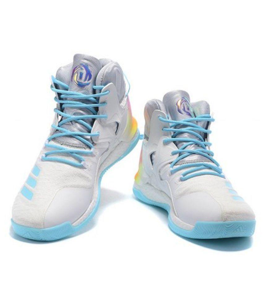 fa6dc70b7ea2 Adidas D ROSE 7 PRIMEKNIT White Basketball Shoes - Buy Adidas D ROSE ...