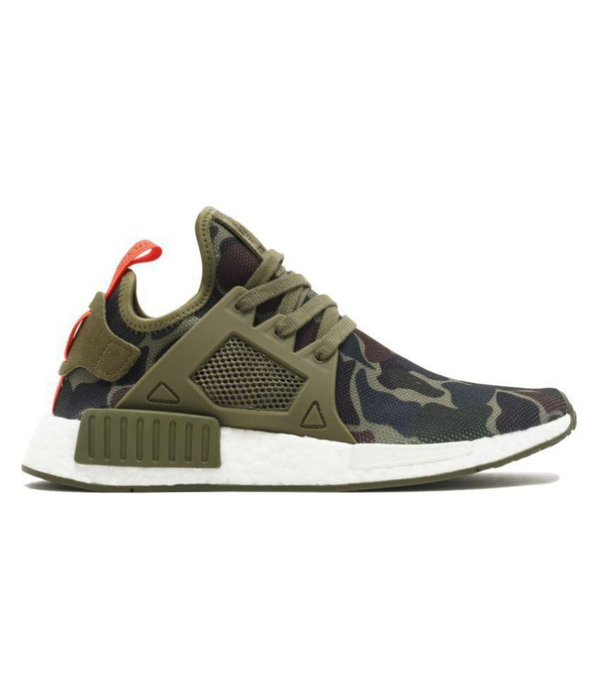 Adidas NMD CAMO Olive Running Shoes - Buy Adidas NMD CAMO Olive Running  Shoes Online at Best Prices in India on Snapdeal d4c2ecdd72