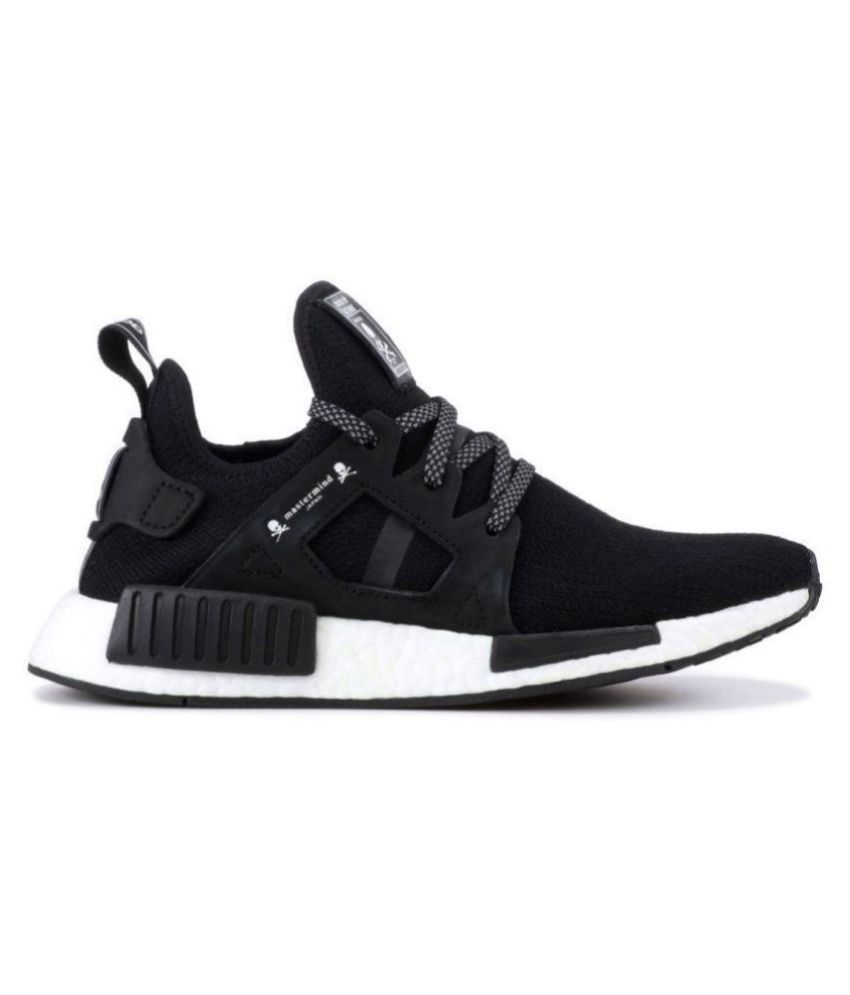 online store e7aee 31680 Adidas NMD XR1 Mastermind Black Running Shoes - Buy Adidas NMD XR1  Mastermind Black Running Shoes Online at Best Prices in India on Snapdeal