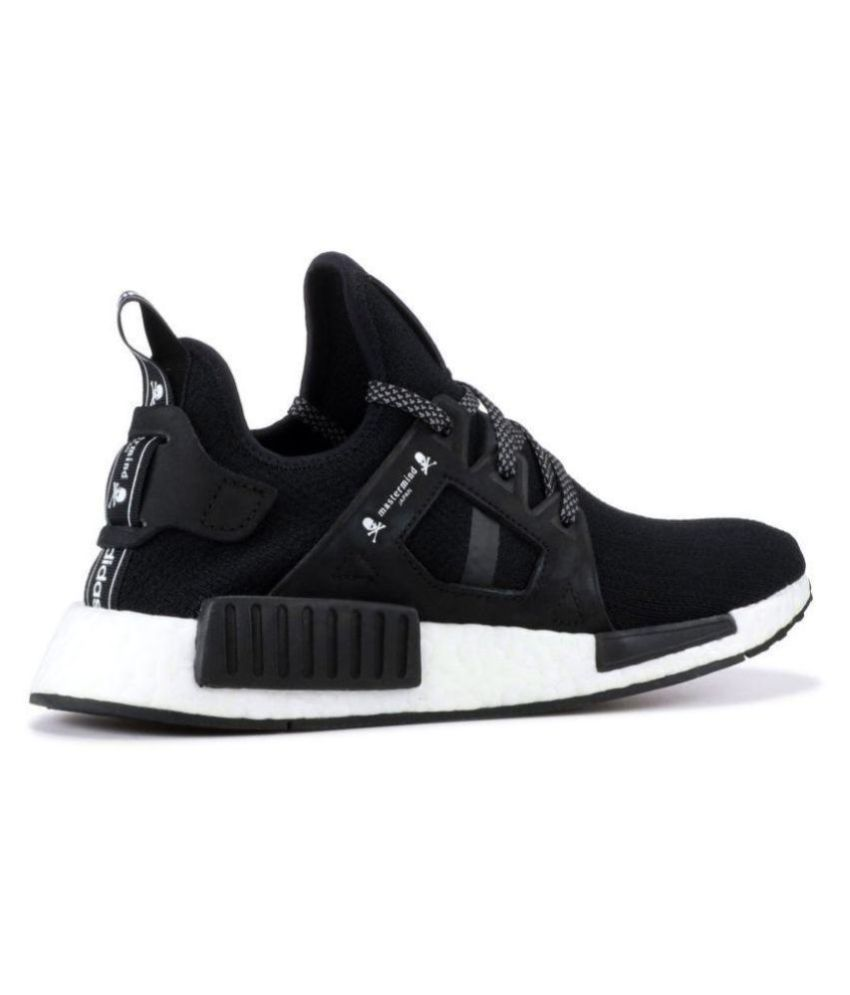 4aaf5684b Adidas NMD XR1 Mastermind Black Running Shoes - Buy Adidas NMD XR1  Mastermind Black Running Shoes Online at Best Prices in India on Snapdeal