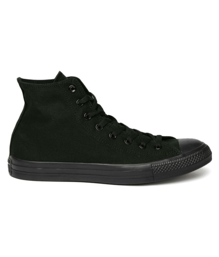 5871d93a722b Converse Sneakers Black Casual Shoes - Buy Converse Sneakers Black Casual  Shoes Online at Best Prices in India on Snapdeal