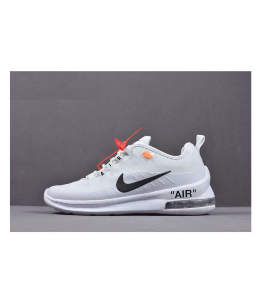 Nike Air Max Axis White Running Shoes - Buy Nike Air Max Axis White Running  Shoes Online at Best Prices in India on Snapdeal 7840e7c29542