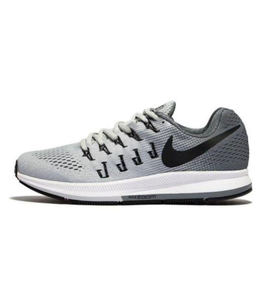 5600363b97 Nike Zoom Pegasus 33 Grey Running Shoes - Buy Nike Zoom Pegasus 33 ...