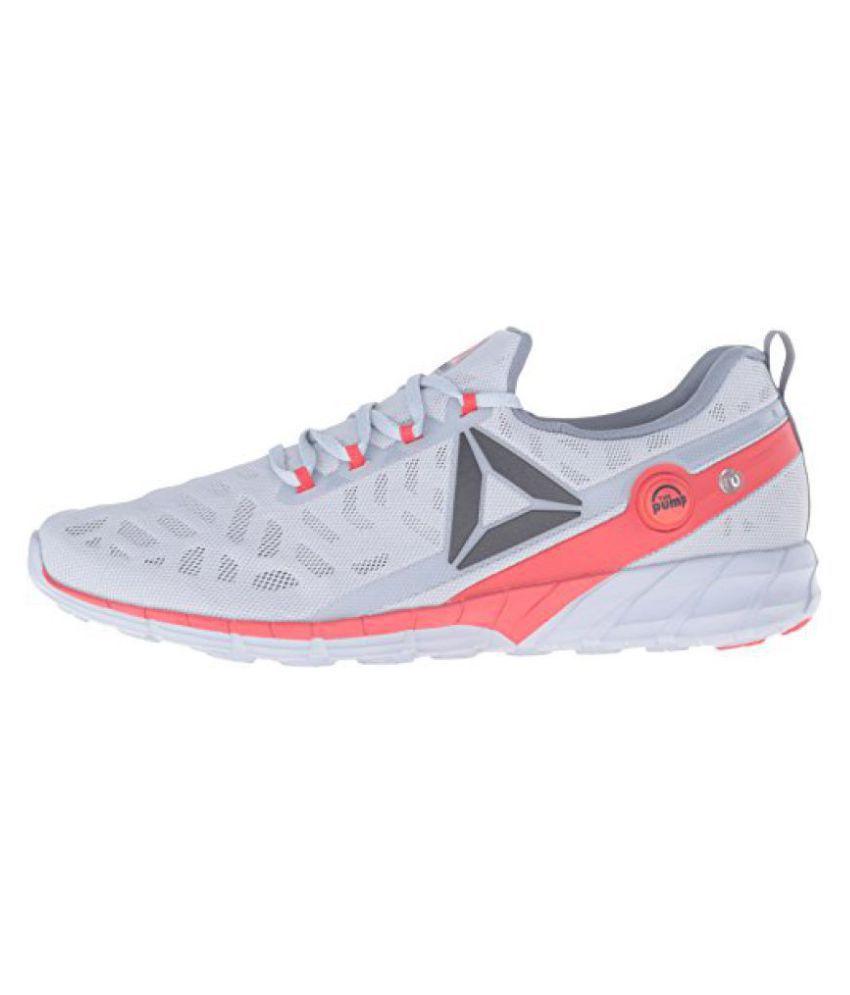 56c38a00cd13e Reebok Zpump Fusion 2.0 Gray Running Shoes - Buy Reebok Zpump Fusion ...