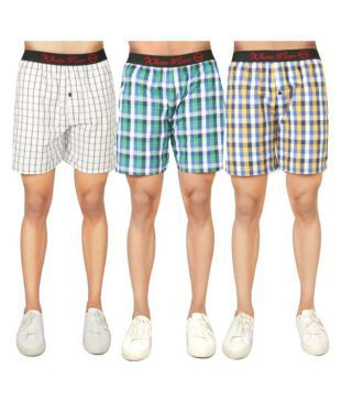 c38c25ead5d Jockey Solid Men Boxer(Pack of 1) The Cotton Company Mens Cotton Printed  Boxer Shorts (Grey
