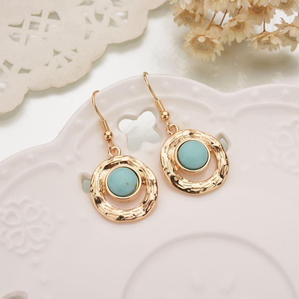 Levaso Fashion Jewelry Womens Earrings Ear Studs Alloy 1Pair Personality Gifts White