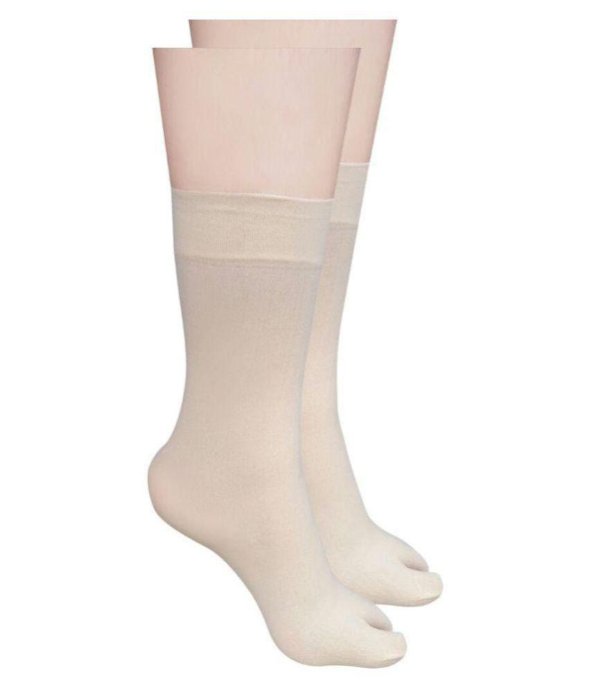 Rediant 2 Pair  Fancy Skin Beign Color Ankle Sun protection transparent Ladies socks
