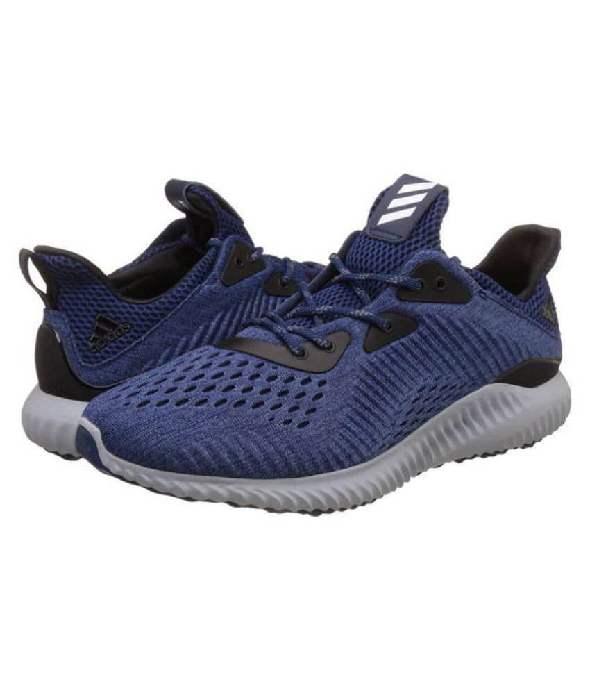 57e53535e Adidas Alpha Bounce EM Navy Running Shoes - Buy Adidas Alpha Bounce EM Navy Running  Shoes Online at Best Prices in India on Snapdeal