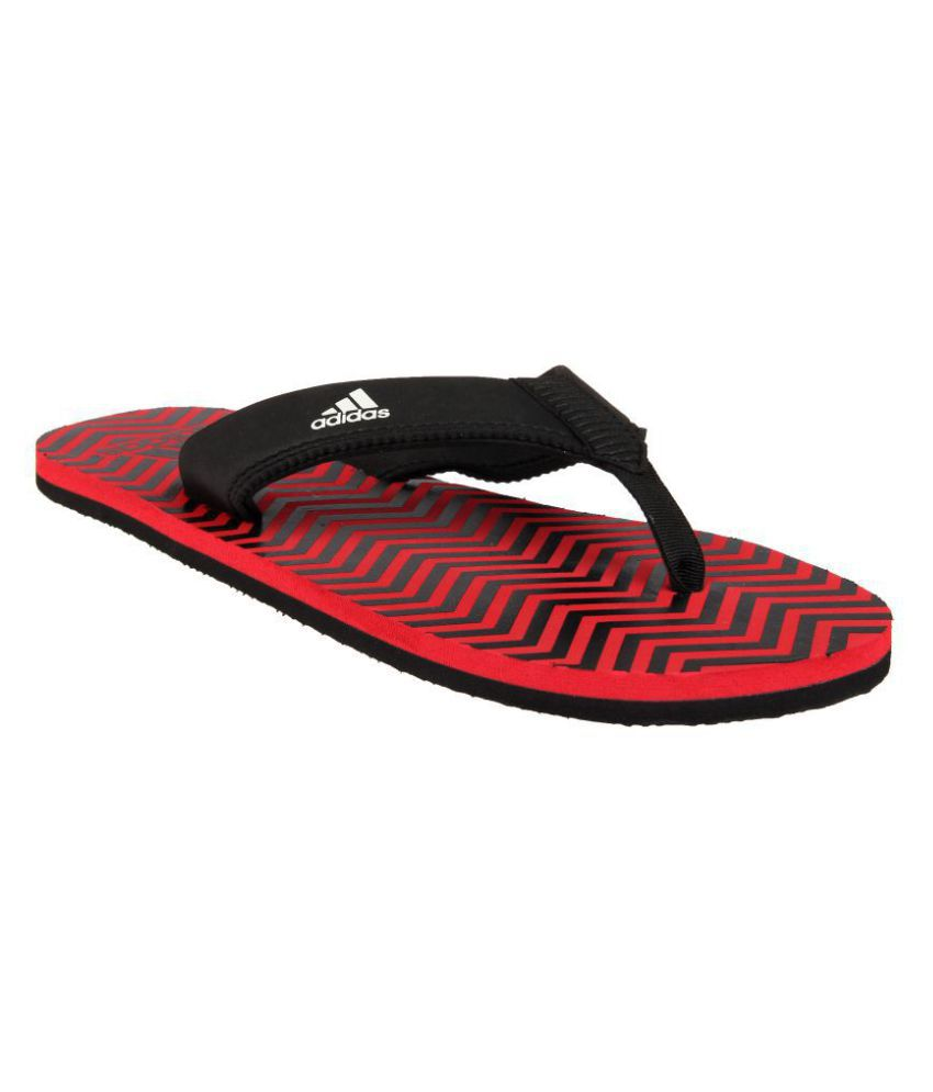 b68e64b04fa56c Adidas INERT M Red Thong Flip Flop Price in India- Buy Adidas INERT M Red  Thong Flip Flop Online at Snapdeal