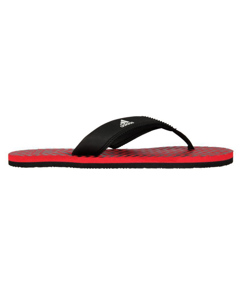 ca3bf6a96 Adidas INERT M Red Thong Flip Flop Price in India- Buy Adidas INERT ...
