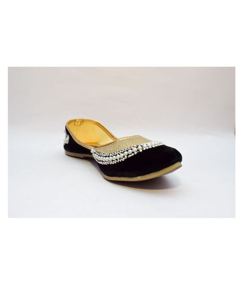 Gravity Sell Black Ethnic Footwear