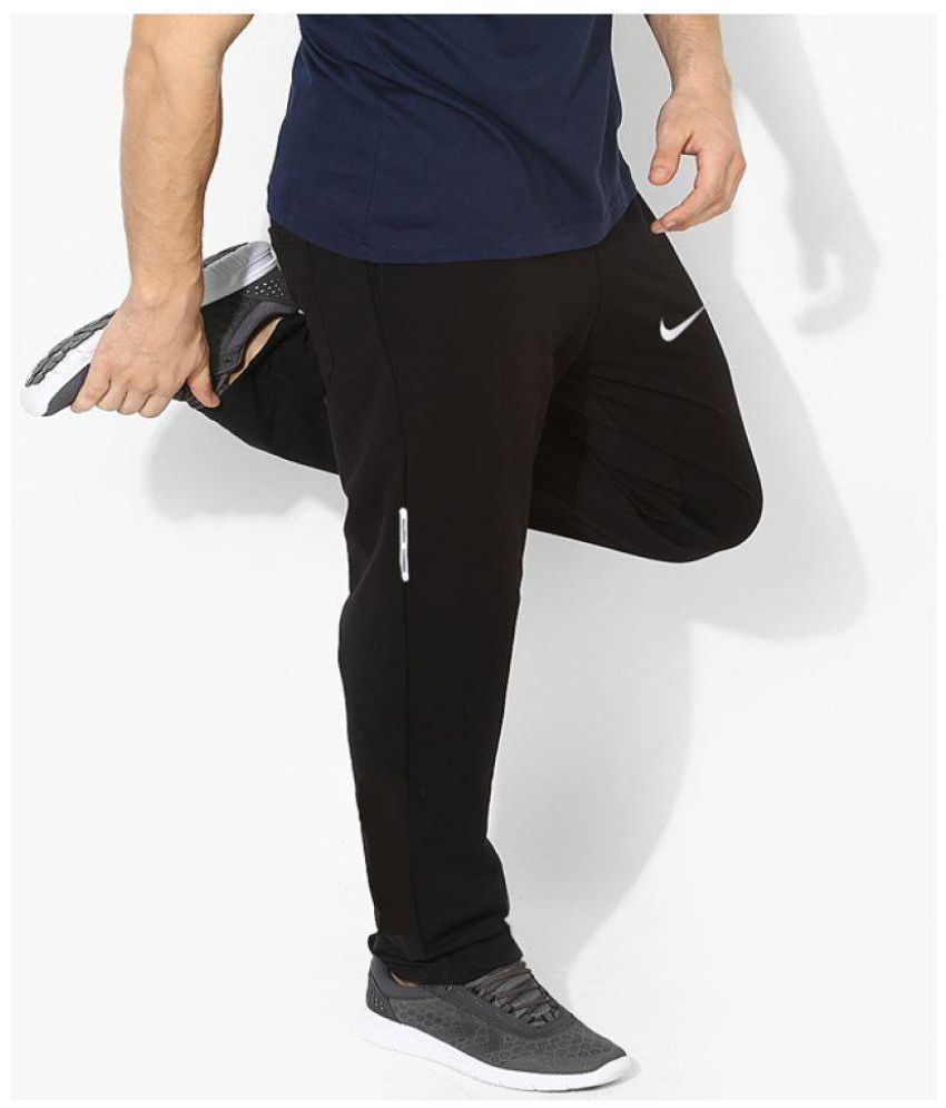5c0707125a573 Nike Black Polyester Trackpants - Buy Nike Black Polyester Trackpants Online  at Low Price in India - Snapdeal