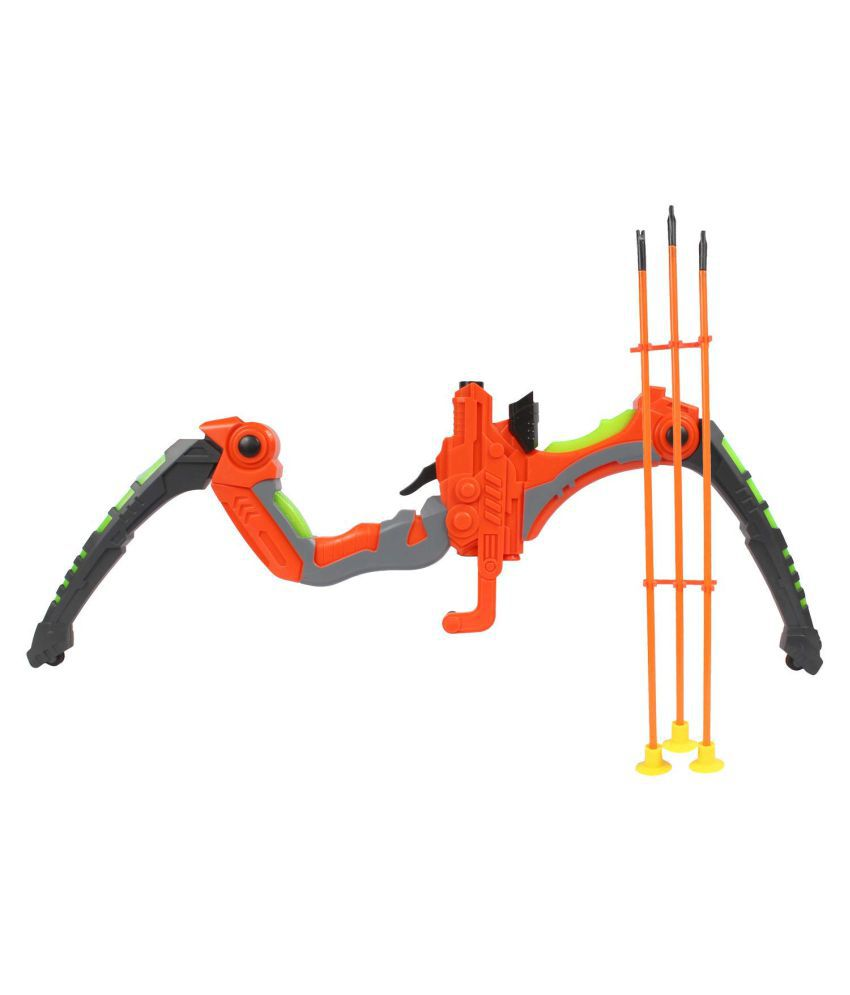 Planet of Toys Flash Archery Set with Arrows (Bow Arrow Set) and Laser Targeting For Kids, Children