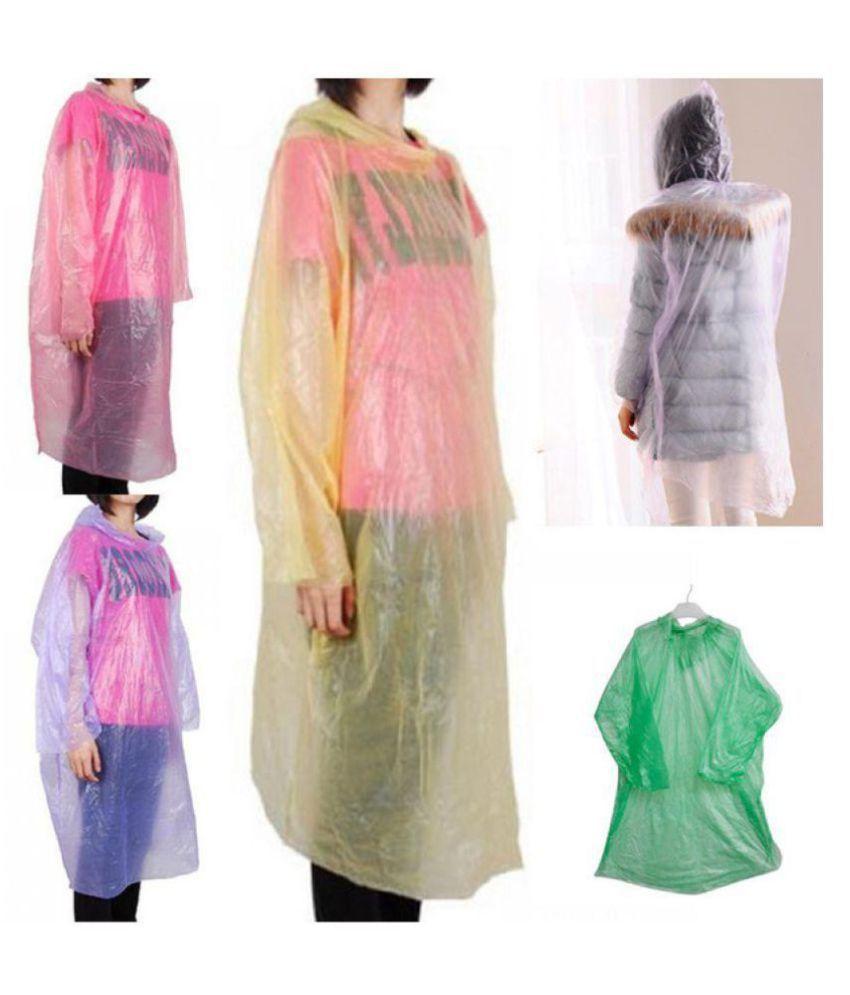 YUTIRITI PVC Raincoat Set - Multi Color