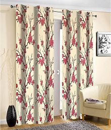 Curtains, Drapes & Valances Flowers Embroidered Window Curt Home & Garden White Rod Pocket Sheer Curtains 106 Inches Long