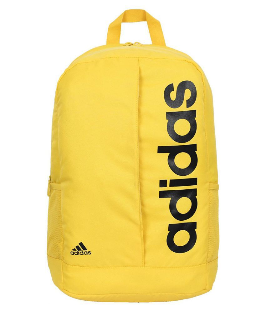 75d35670ee Adidas Yellow LIN PER BP Backpack - Buy Adidas Yellow LIN PER BP Backpack  Online at Low Price - Snapdeal