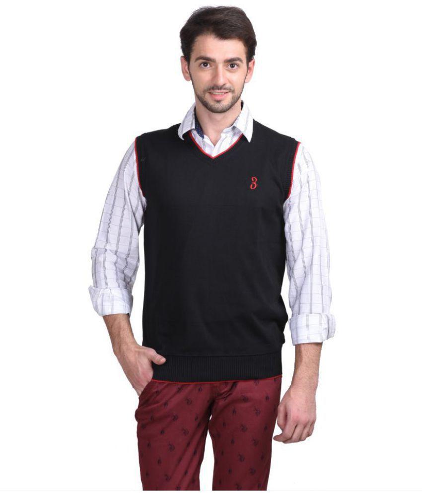 Concepts Black V Neck Sweater