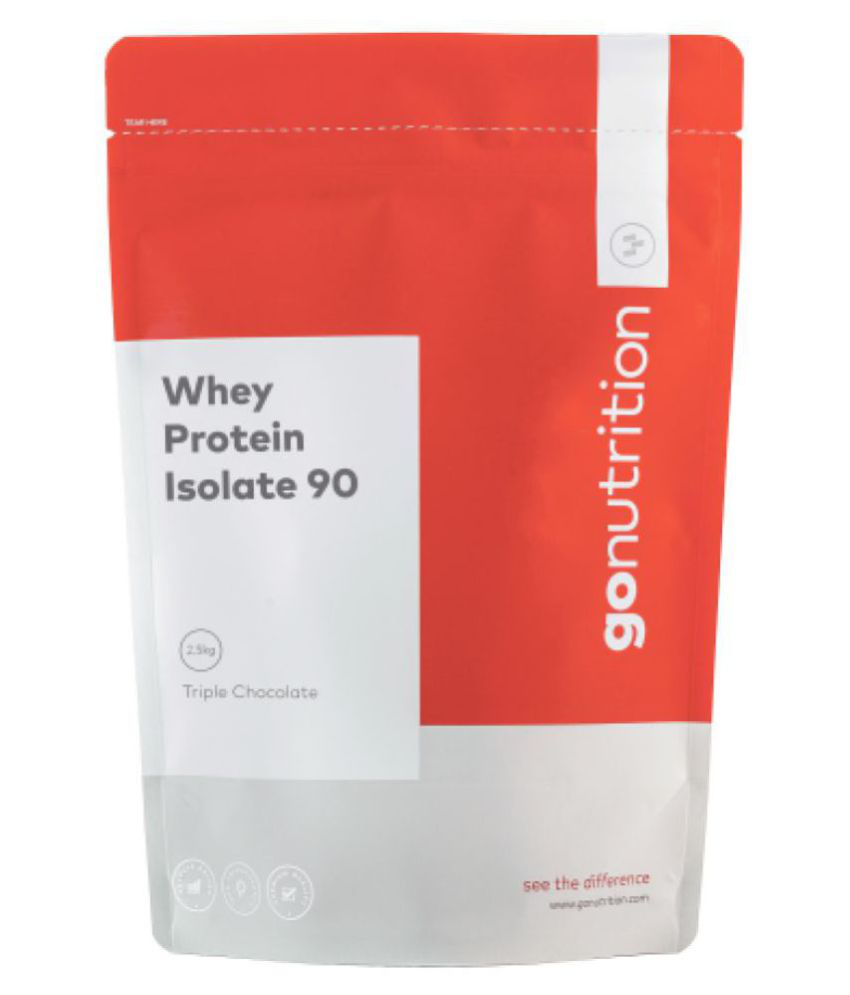 GoNutrition Whey Protein Isolate 2500 gm