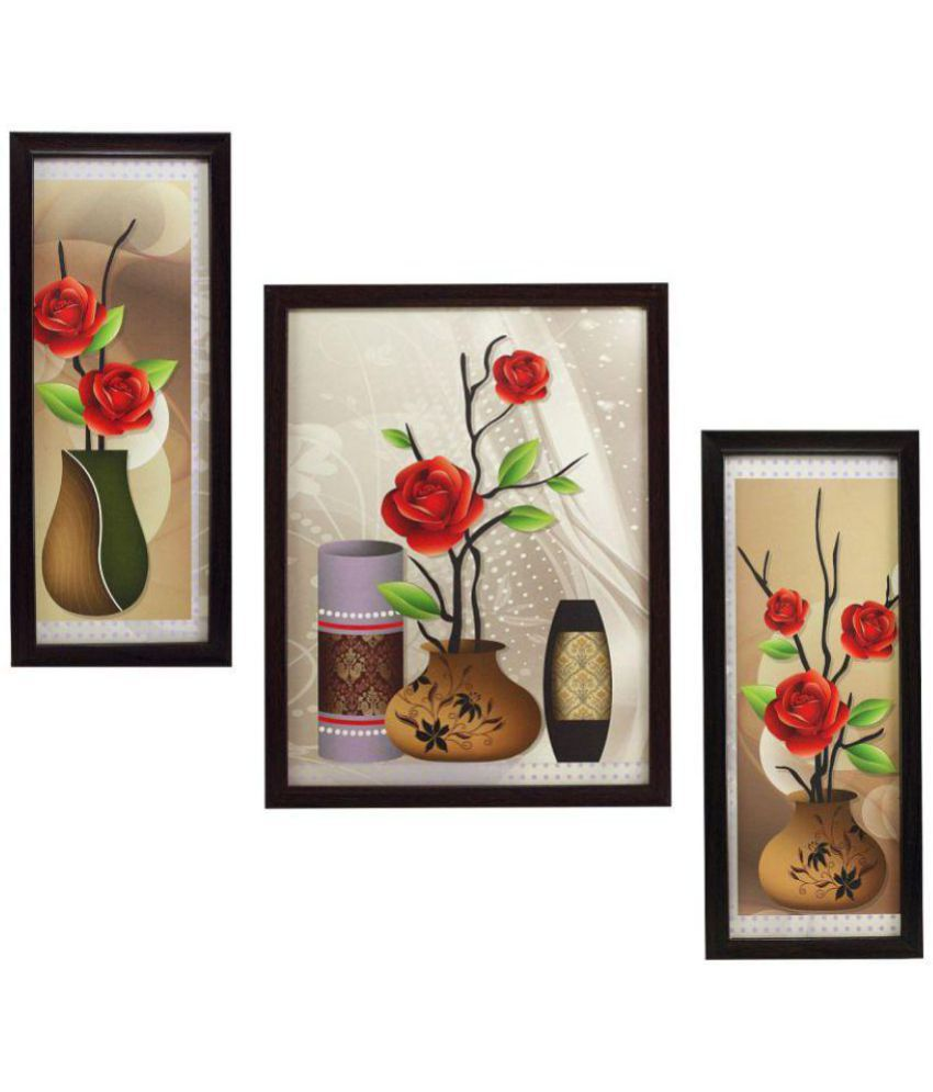 Indianara MDF Painting With Frame without Glass