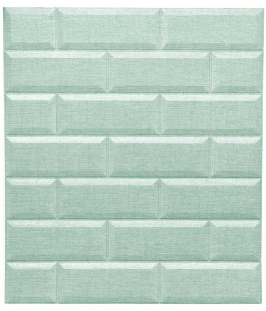 Sampada Synthetics Brick style and Tile style DH002 SKY BLUE (WD-05 ...