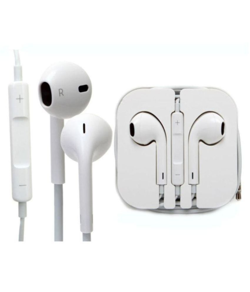 low priced 355b4 c713c Apple Iphone 4, 5,6, 6s In Ear Wired Earphones With Mic