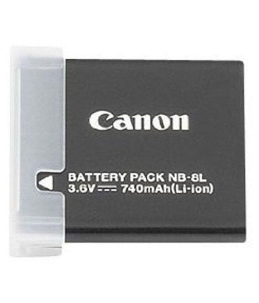 Canon Nb 8l 740 Rechargeable Battery 1 Price In India Buy