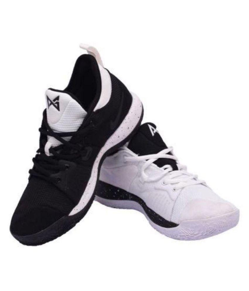 2429a758462 Nike 2018 PG2 White-Black Multi Color Basketball Shoes - Buy Nike ...