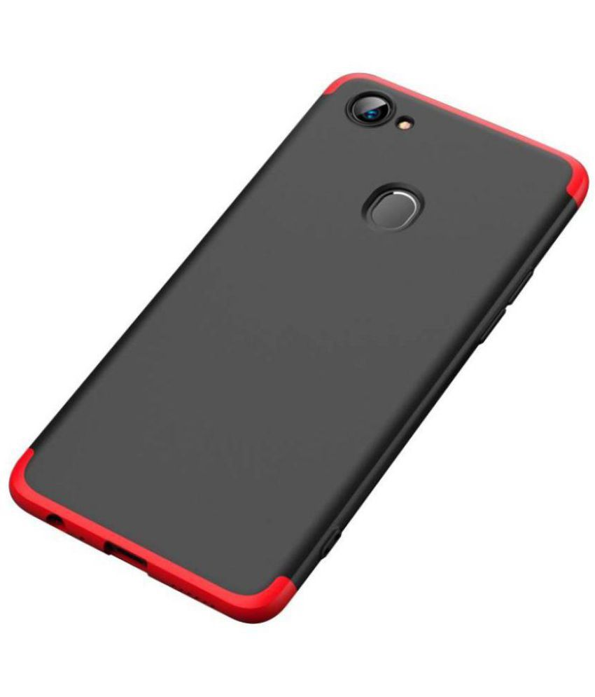 separation shoes 3eca0 f5bfb Oppo F7 Bumper Cases SK QUALITY - Red Premium Look, Full Body Protection  case & cover
