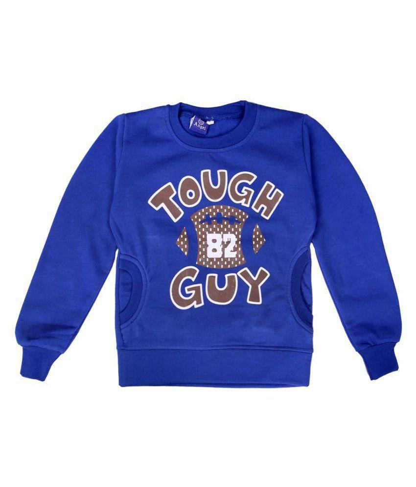 Sweatshirt  Blue Color for kids