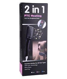ELEGANCIO 2 In 1 PTC Heating Hair Straightener ( Black )