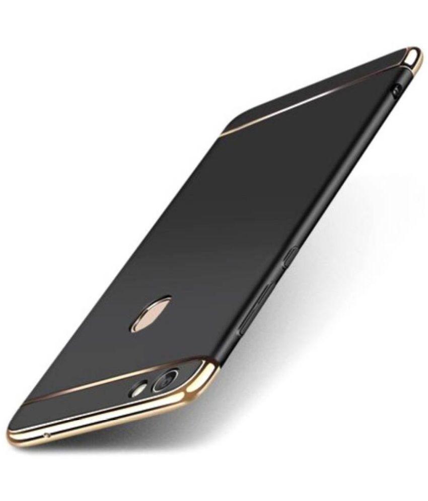 Samsung Galaxy A6 Plus Plain Cases Kosher Traders - Black 3 In 1 Chromium