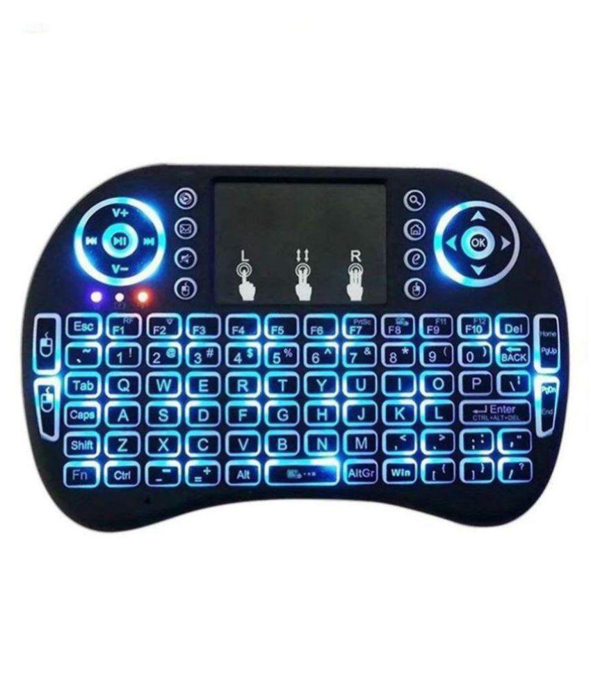 ba72adfd51d LipiWorld Mini Wireless Keyboard with Touchpad/Backlit Light Black Wireless Keyboard  Mouse Combo - Buy LipiWorld Mini Wireless Keyboard with ...