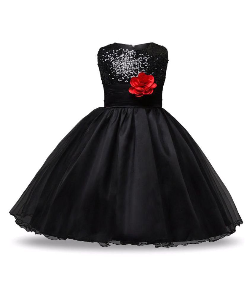cb853c00d60e Sofyana Black Satin Girl Birthday Party Wear Dress girl frock Birthday  Party dress kids Party wear dress - Buy Sofyana Black Satin Girl Birthday  Party Wear ...
