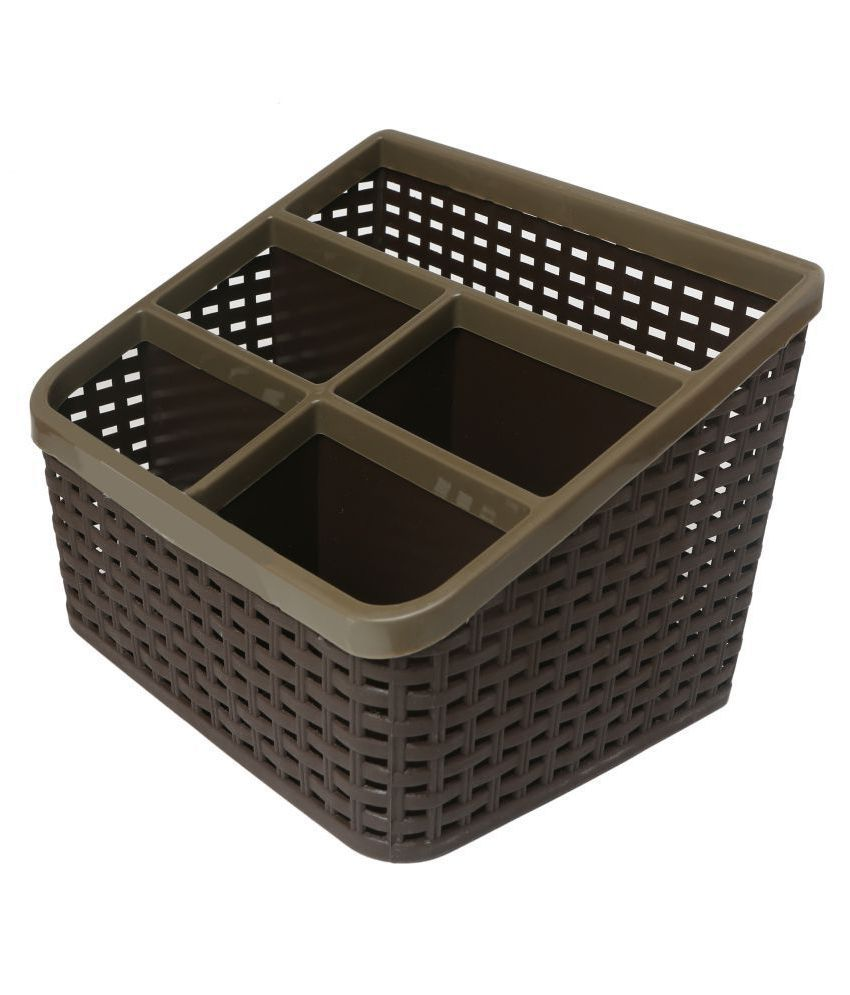 csm desk organizer comb stand brown buy online at best price in rh snapdeal com