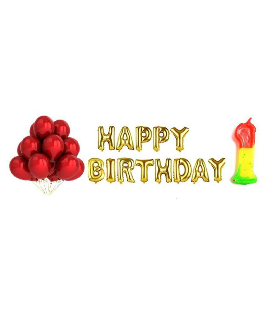 americ style happy birthday letter foil balloons pack 64 pcs