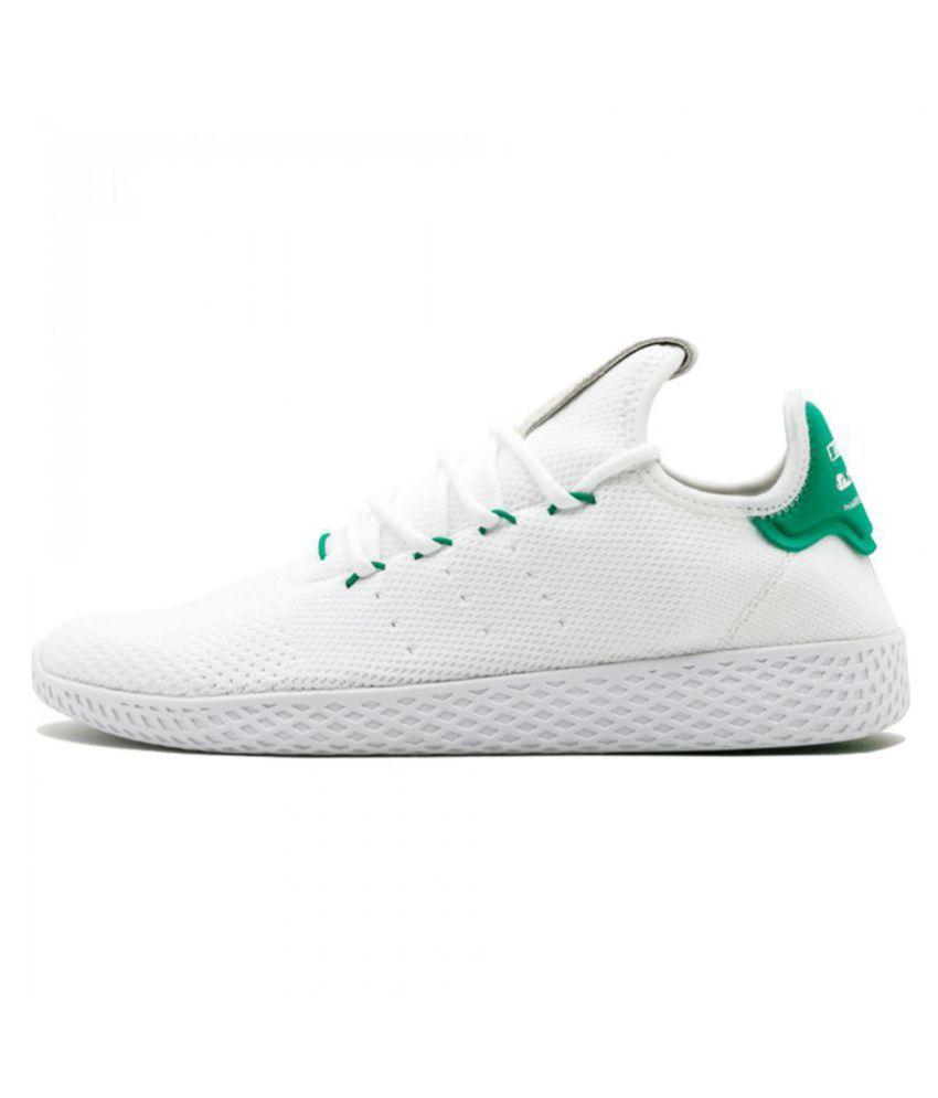 8e5553f91fae Adidas x PHARRELL WILLIAMS HU TENNIS Sneakers White Casual Shoes - Buy  Adidas x PHARRELL WILLIAMS HU TENNIS Sneakers White Casual Shoes Online at  Best ...