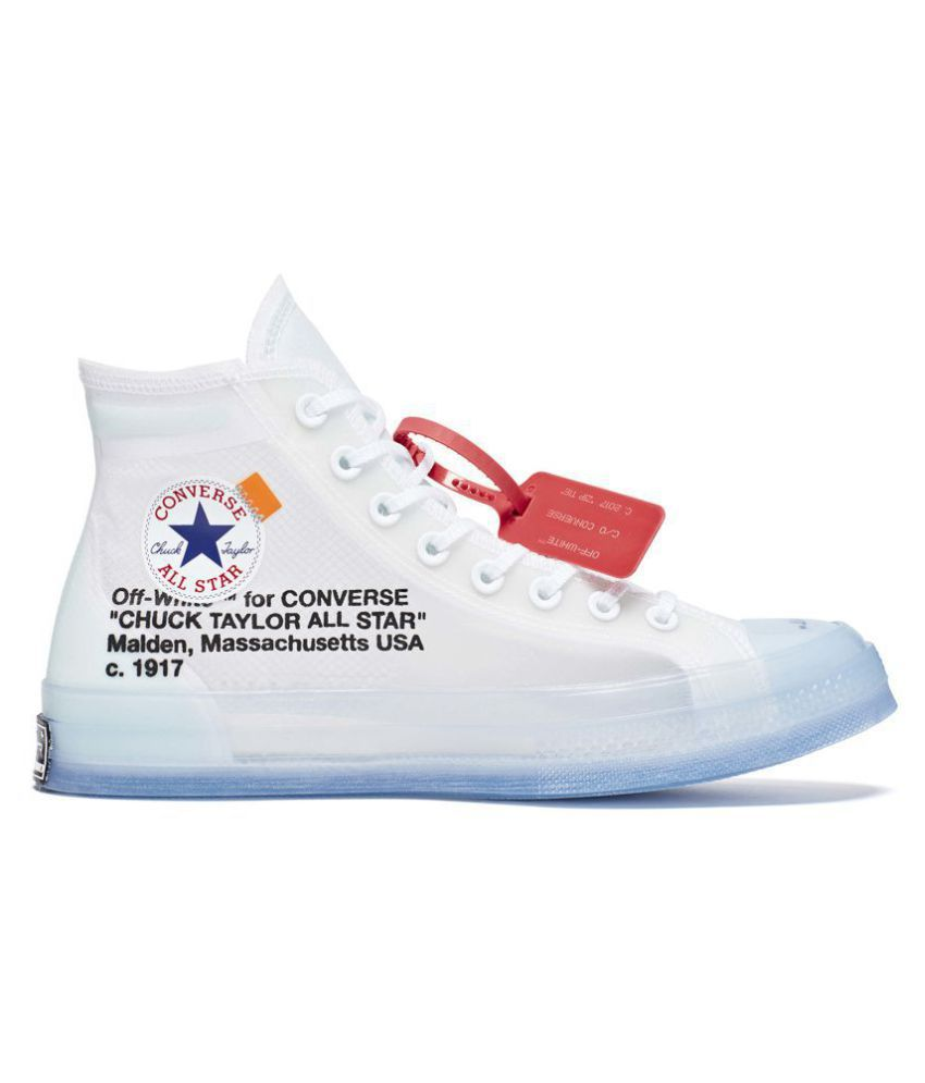 Nike Converse Chuck All-Star Off-White White Running Shoes - Buy Nike Converse  Chuck All-Star Off-White White Running Shoes Online at Best Prices in India  ... ad31b189aab
